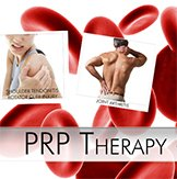 Platelet Rich Plasma joint therapy